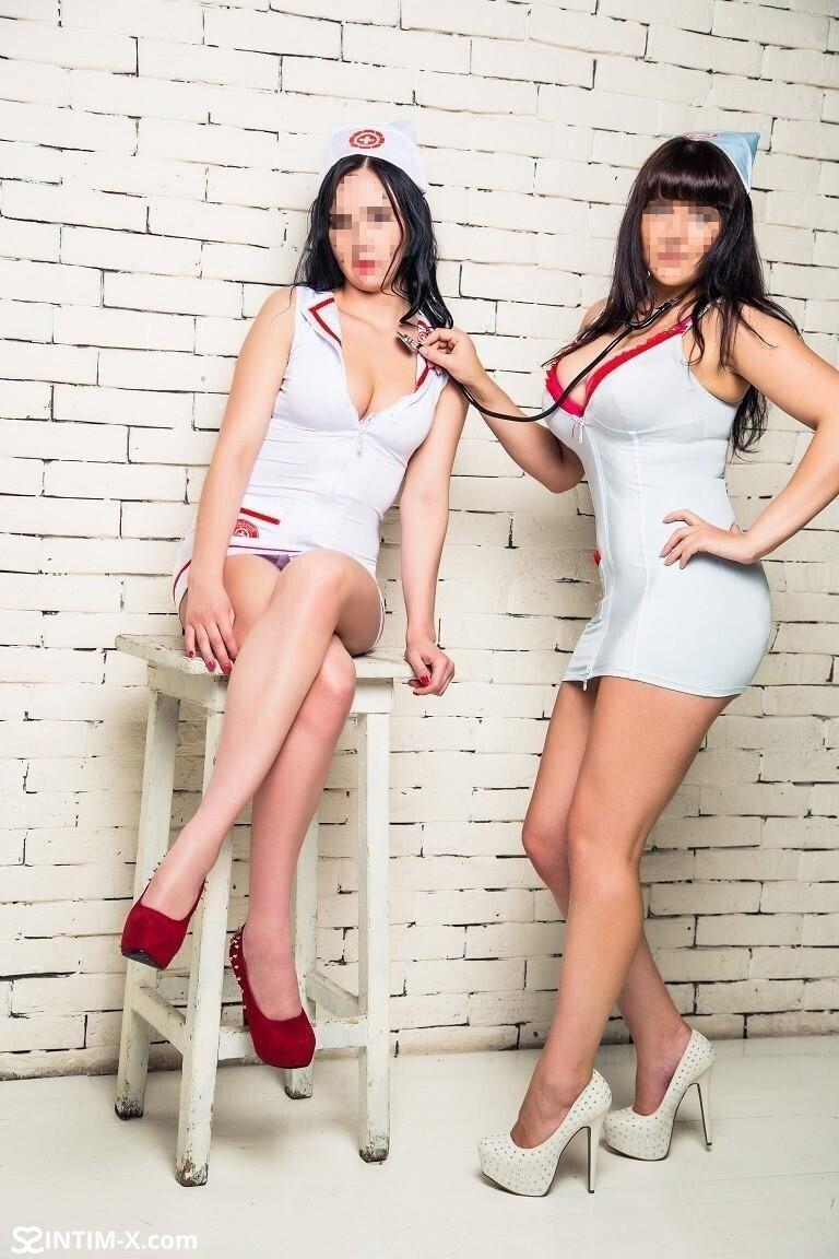 Проститутка Альбина и Римма